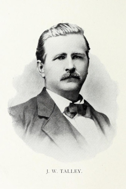 Dr. James W. Talley, of Milltown (now Lakeland), GA
