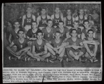 Melvin Plair played on the 1952-53 Nashville High Sschool boys basketball team. Image courtesy of www.berriencountyga.com