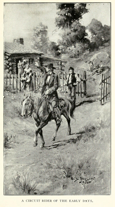 Methodist Circuit Rider in the early days. The history of Georgia Methodism from 1786 to 1866.