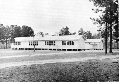 New Lois School when the campus was at its peak. Image courtesy of www.berriencountyga.com
