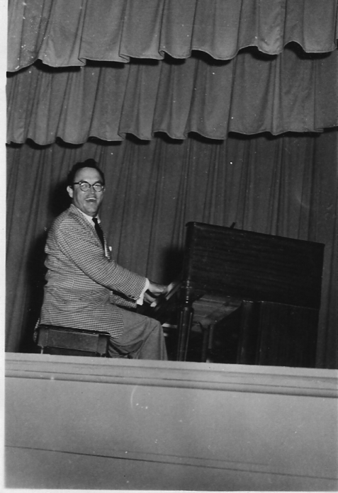 Geunie Griner, circa 1960, musician, comedian, newspaper publisher of Berrien County, GA.