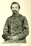 William Holden Echols, a Captain of Engineers in the Confederate States Army, was a candidate for Colonel of the 29th GA Regiment.