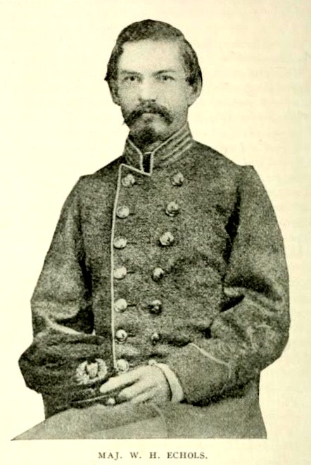 William Holding Echols, a Captain of Engineers in the Confederate States Army, was a candidate for Colonel of the 29th GA Regiment.
