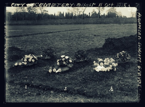 City Cemetery, Belfast, Ireland; American soldiers graves http://hdl.loc.gov/loc.pnp/anrc.01521a