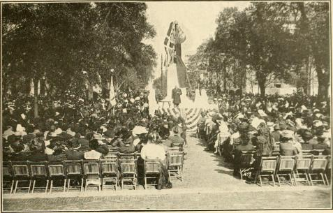 Dedication of the monument to General James Edward Oglethorpe, unveiled Savannah, GA, November 23, 1910