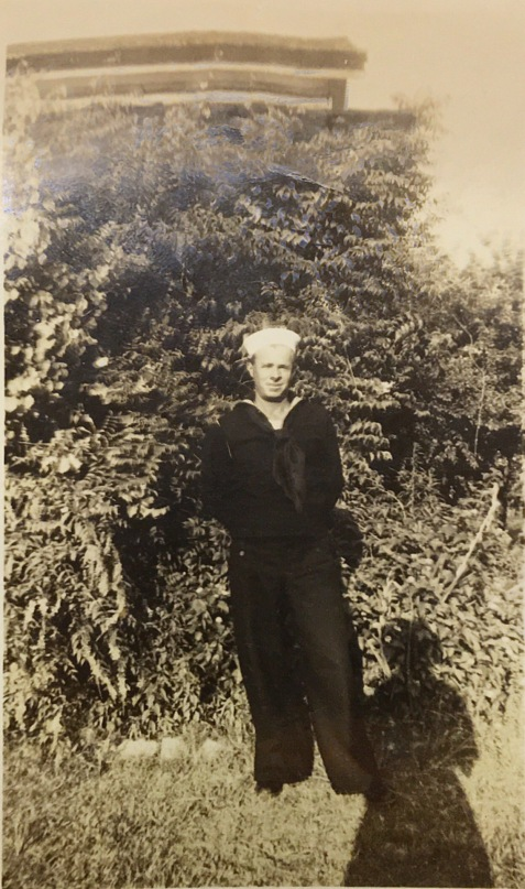 Aubrey Sizemore in Navy Uniform