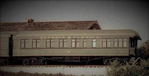Georgia & Florida Railroad No. 100 passenger car