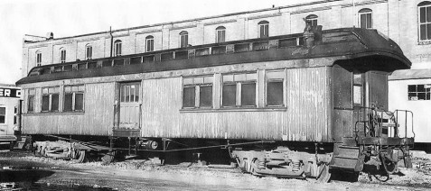 Georgia & Florida combine car No. 653
