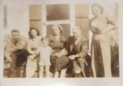 Thomas Babington McCauley and family. Tom Babington was a locomotive engineer for the Georgia & Florida Railroad. His right foot was maimed in a train derailment.