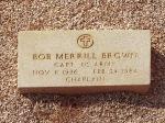 Grave of Chaplain Bob Merrill Brown
