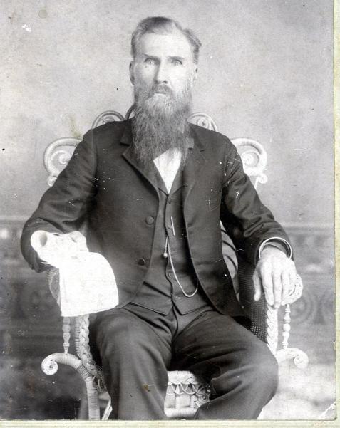 William DeVane (1838-1909) Image courtesy of http://www.berriencountyga.com/