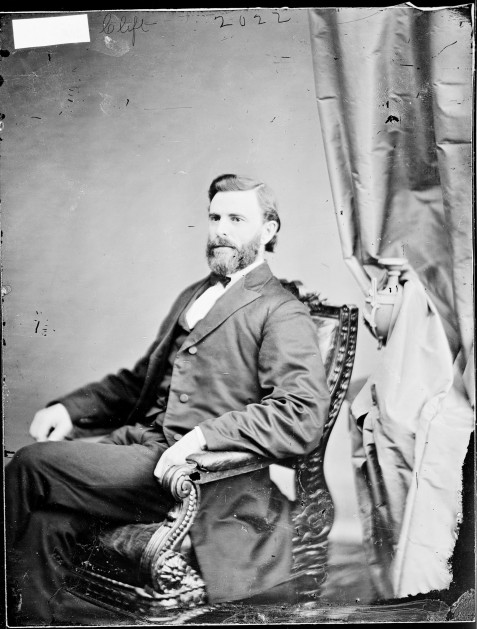 Joseph Wales Clift, circa 1861-1865. Source: Mathew Brady Photographs of Civil War-Era Personalities and Scenes, National Archives.