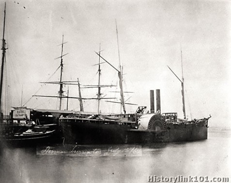 SS Herman Livingston made the regular run between Savannah, GA and New York