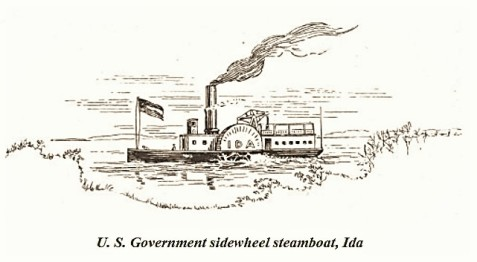 "The CSS Ida served Fort Pulaski, Fort Jackson, Causton's Bluff and the Savannah River batteries. The Ida made her last trip to Fort Pulaski on February 13, 1862. - <a href=""https://www.gutenberg.org/files/47493/47493-h/47493-h.htm"" target=""_blank"" rel=""noopener"">Fort Pulaski National Monument</a>"