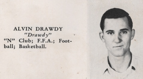 Alvin Drawdy, Class of 1949, Nashville High School, Berrien County, GA