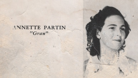 Annette Partin, Class of 1949, Nashville High School, Berrien County, GA