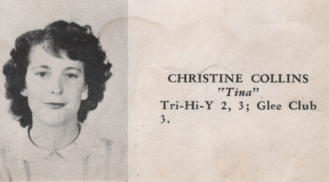 Christine Collins, Class of 1949, Nashville High School, Berrien County, GA