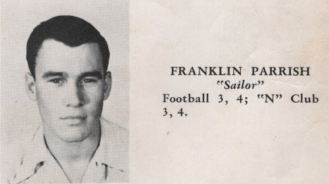 Franklin Parrish, Class of 1949, Nashville High School, Berrien County, GA