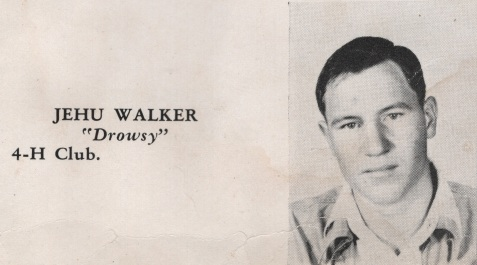 Jehu Walker, Class of 1949, Nashville High School, Berrien County, GA