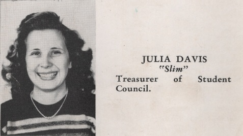 Julia Davis, Class of 1949, Nashville High School, Berrien County, GA