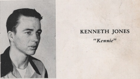 Kenneth Jones, Class of 1949, Nashville High School, Berrien County, GA