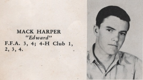 Mack Harper, Class of 1949, Nashville High School, Berrien County, GA