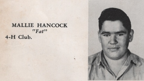 Mallie Hancock, Class of 1949, Nashville High School, Berrien County, GA