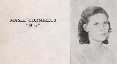 Maxie Cornelius, Class of 1949, Nashville High School, Berrien County, GA
