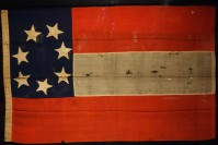 On a mission to purchase arms from Great Britain, Edward C. Anderson flew the Confederate national flag to celebrate the southern victory at the Battle of Bull Run (Manassas).