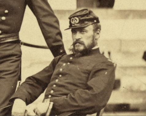As a Lieutenant, James Harrison Wilson led the April, 1862 federal excursion on Wilmington Island.