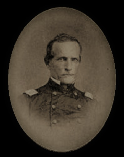 Colonel William M. Fenton, 8th Michigan Infantry, led skirmishes against Confederate troops from Causton's Bluff.