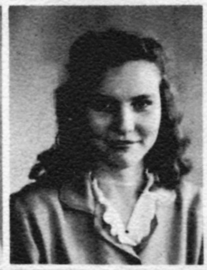 Billie Ruth Nix, Vice President of the Class of 1949, Nashville High School, Berrien County, GA
