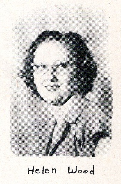 Helen Wood, Ray City School, Class of 1949