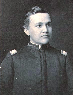 Colonel John Slaughter Candler, commanding, 3rd Georgia Regiment, U. S. Volunteers, Camp Northen, Griffin, GA