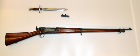 U.S. Model 1898 Springfield Krag-Jorgensen rifle