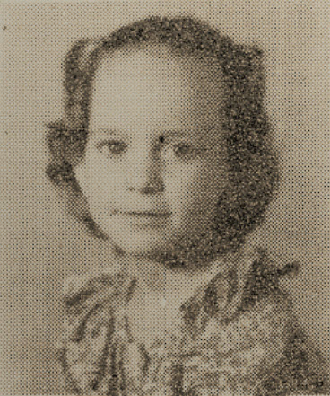 1949 Betty Flowers, second grade, Ray City School, GA