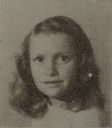 1949 Betty Harnage, second grade, Ray City School, GA