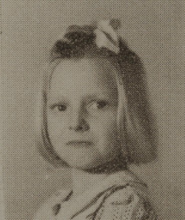 1949 Betty Myers, second grade, Ray City School, GA