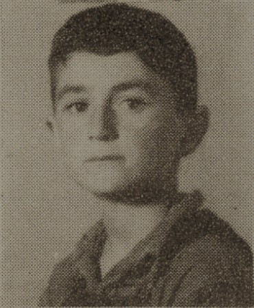 1949 Bill Lindsey, second grade, Ray City School, GA