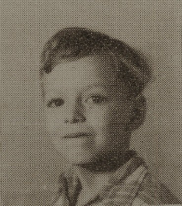 1949 Charles Sirmans, second grade, Ray City School, GA