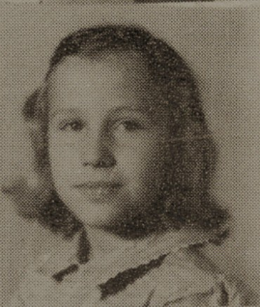 1949 Elizabeth Garner, second grade, Ray City School, GA