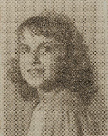 1949 Gloria Grissett, second grade, Ray City School, GA