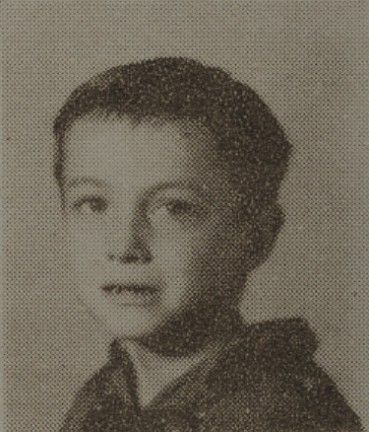 1949 Hubert Smith, second grade, Ray City School, GA