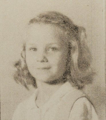 1949 Marie Smith, second grade, Ray City School, GA