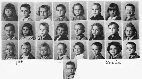 1949, 1st Grade, Ray City School
