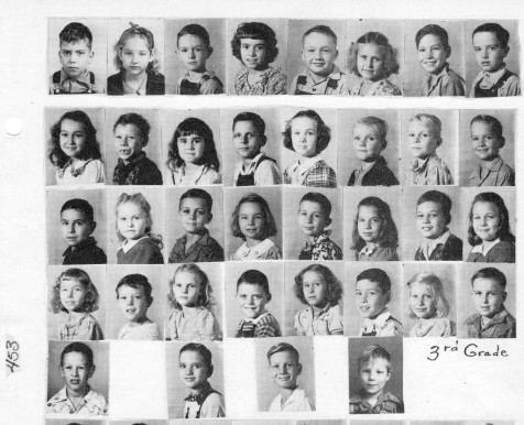 1949 Ray City School 3rd grade