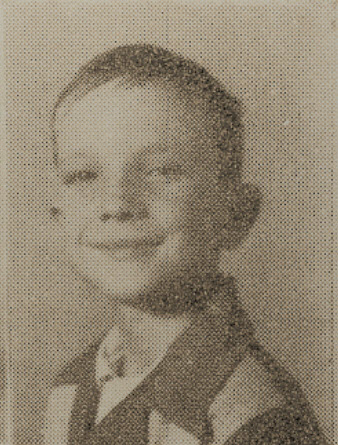 1949 Robert Cornelius, second grade, Ray City School, GA