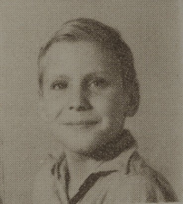 1949 William Etheridge, second grade, Ray City School, GA