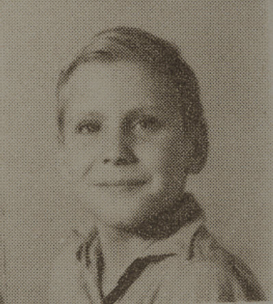 1949 Bill Ethridge, second grade, Ray City School, GA