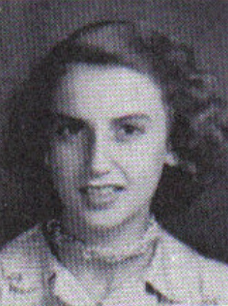 1949 Gloria Grissett, seventh grade, Ray City School, GA.